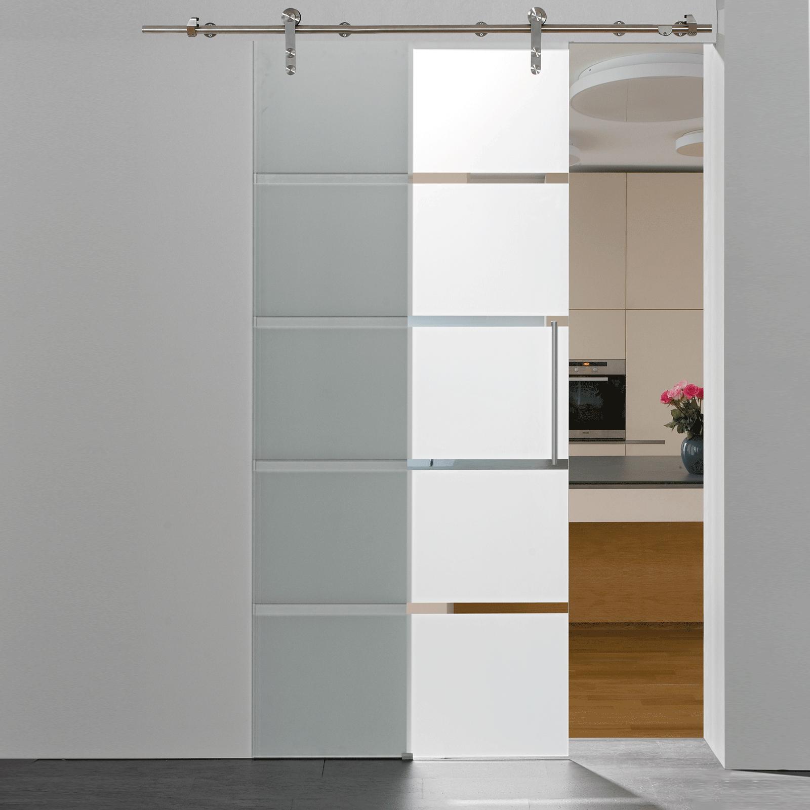 schiebet r glasschiebet r 900x2080 t r blockstreifen glast r zimmert r. Black Bedroom Furniture Sets. Home Design Ideas